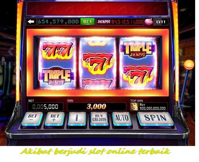 Akibat berjudi slot online terbaik
